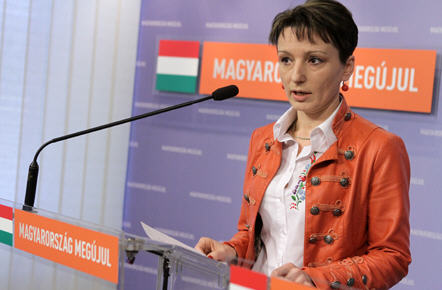 There is no question, Mrs. Czunyi, née Judit Bertalan is a faithful Fidesz loyalist