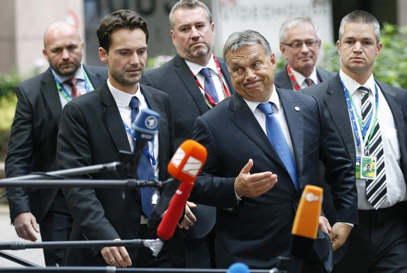 Viktor Orbán arrives at the summit / Reuters / Photo: Francois Lenoir