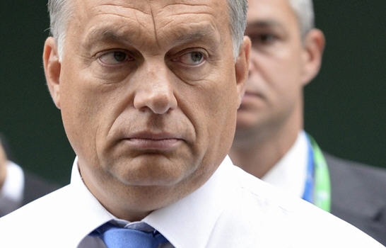 A determined Viktor Orbán in Brussels / MTI / EPA Photo: Stephanie Lecocq