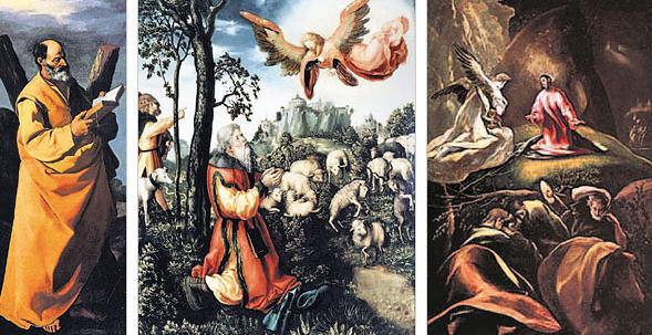 Zurbarán, Cranach, the Elder, El Greco Credit: Hirko Masuike, The New York Times