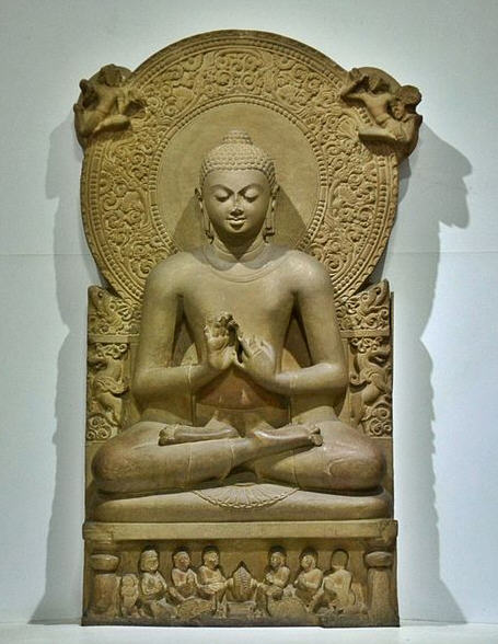 Buddha stature from Sarnath / 4th century