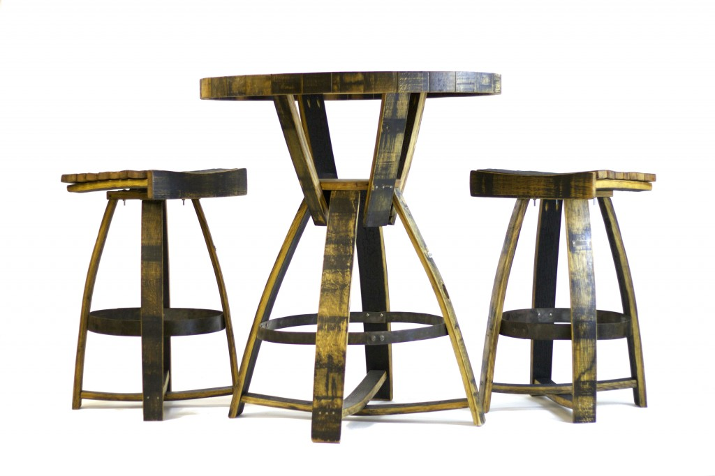 recycled whiskey barrels 10