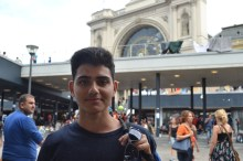 Hassan, age 17, from Damascus: left mother and sister at home, father disappeared.