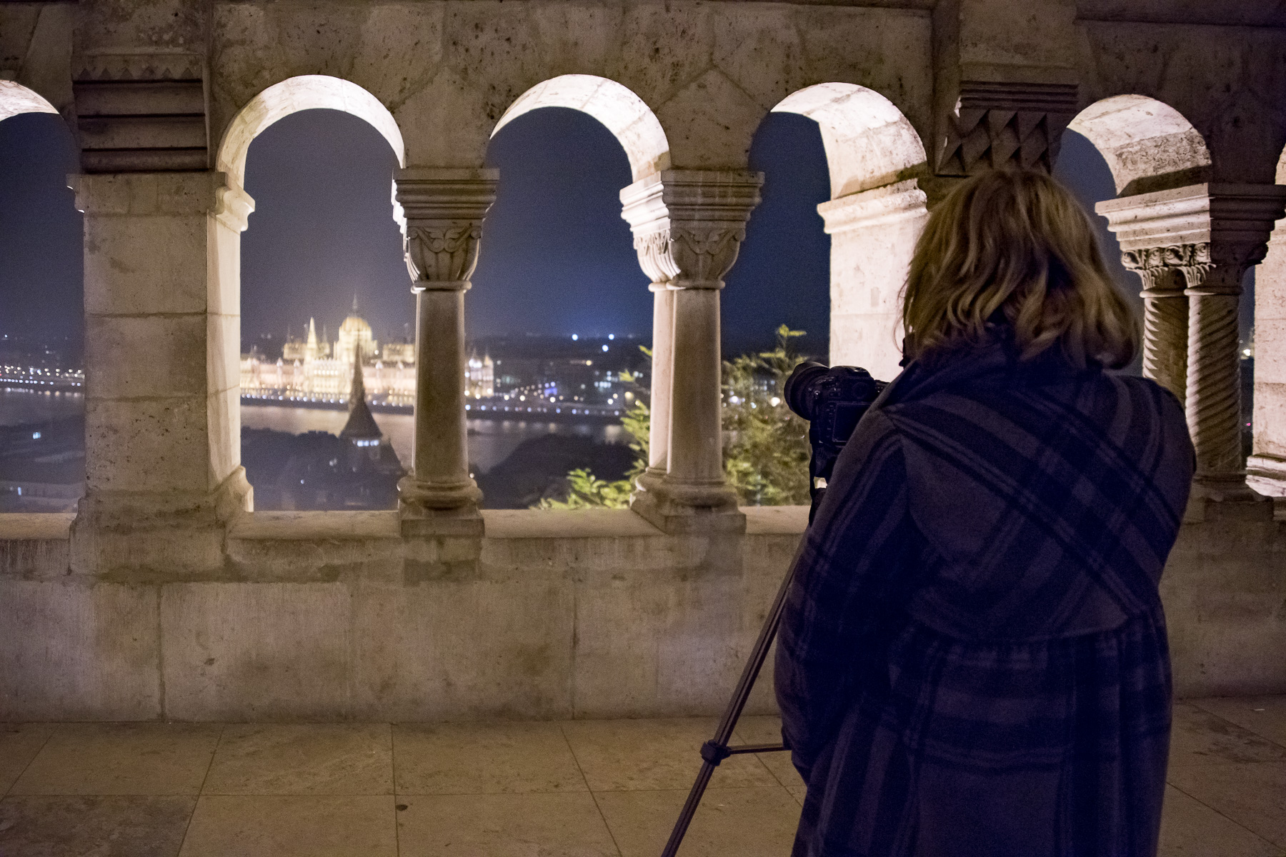 framing Parliament from Fishermen's Bastion
