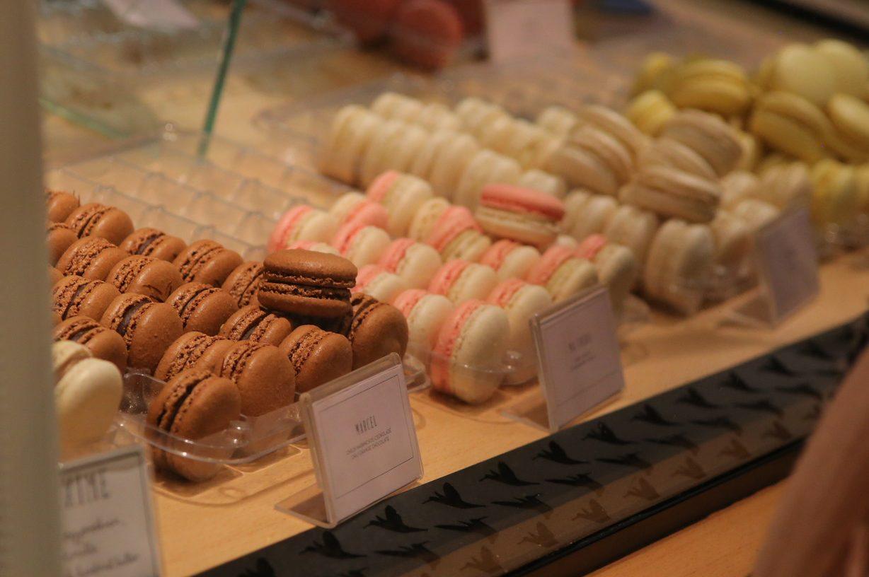 Macarons closeup