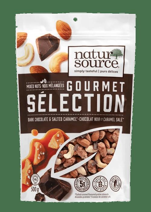 Dark Chocolate & Salted Caramel Gourmet Mix - 35g Image