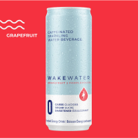 Wake Caffeinated Sparkling Water