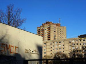 Plattenbauten Ernst-Thälmann-Park Berlin