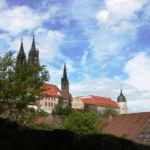 Blick zum Meißner Dom und zur Albrechtsburg
