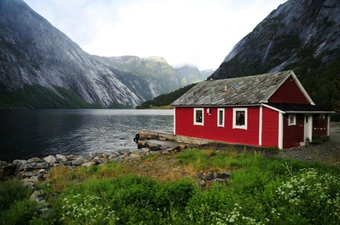 Fjordhaus Skandinavien | © panthermedia.net /Dieter Möbus