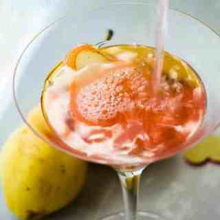 Traditional Cosmopolitan with a Pear Twist