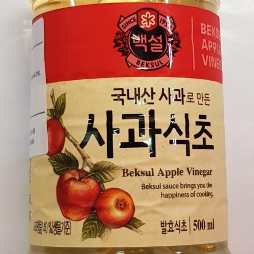 äppelvinäger