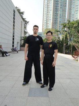 """Тренування в парку """"Коу Лун"""" (парк 9-ти драконів). Гонконг"""