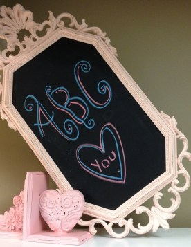 Chalk Boards Painted Kids Room