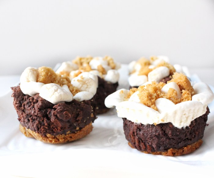 Gluten Free S'more Brownie Cupcakes