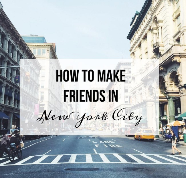making friends in nyc
