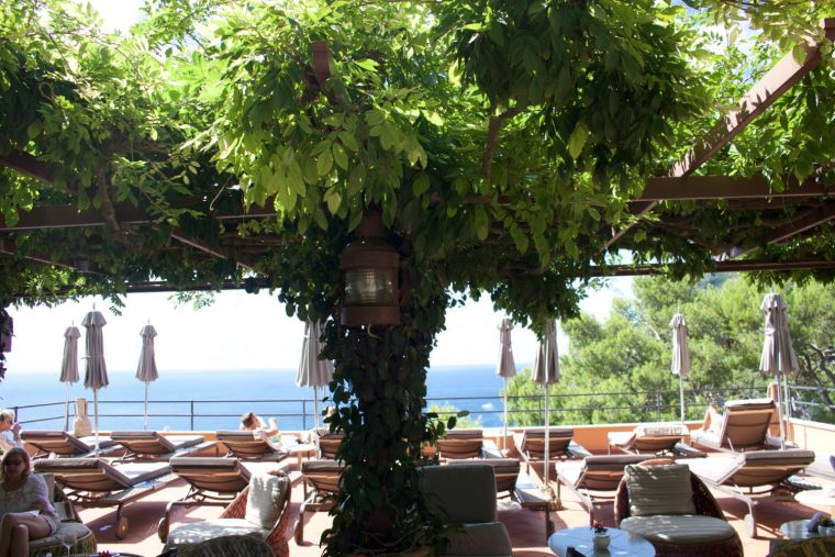 Hotel Tragara in Capri Italy pool