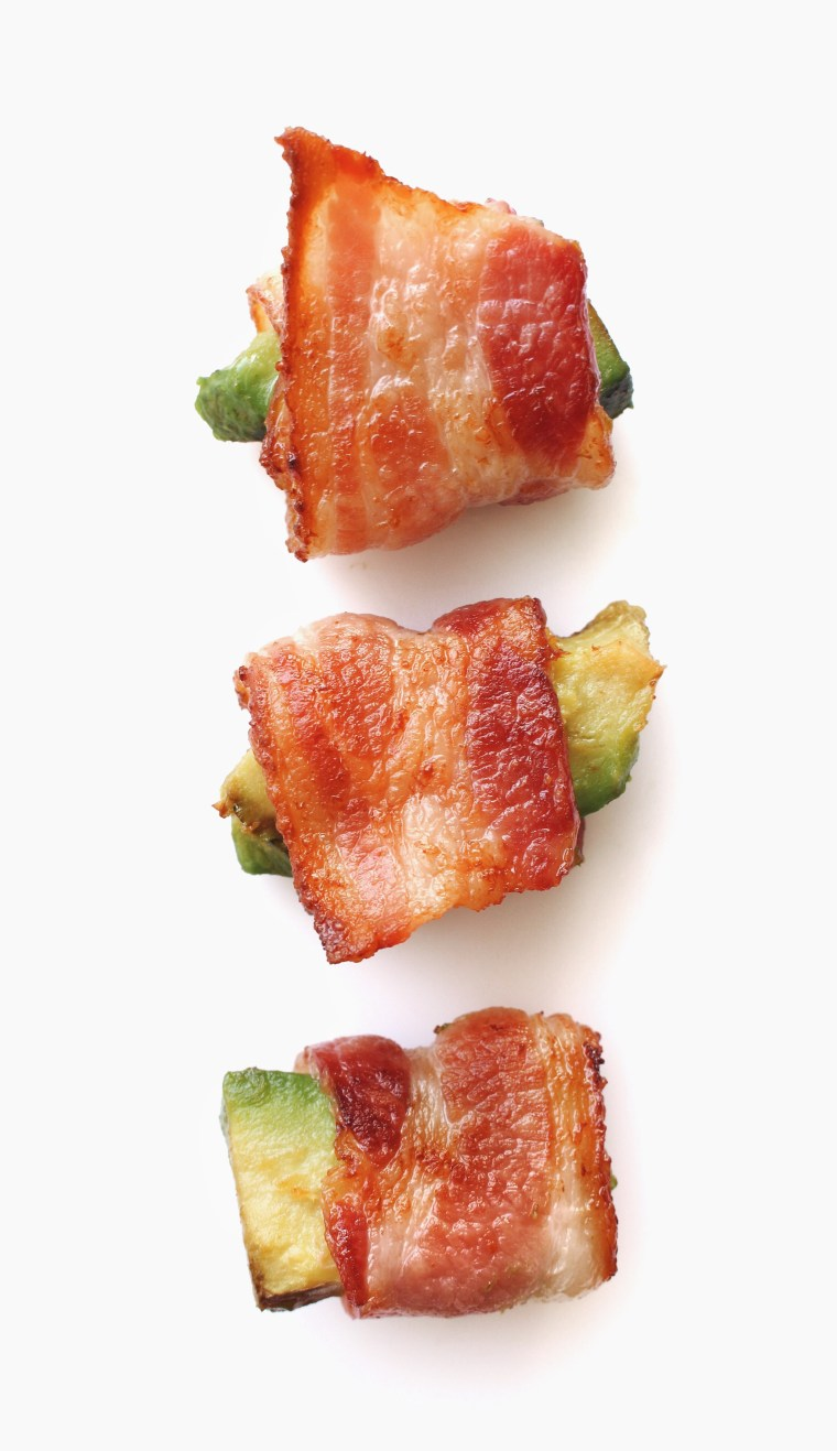 Whole30 Bacon Wrapped Avocado Bites