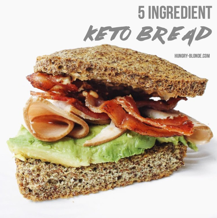 5 Ingredient Keto Bread