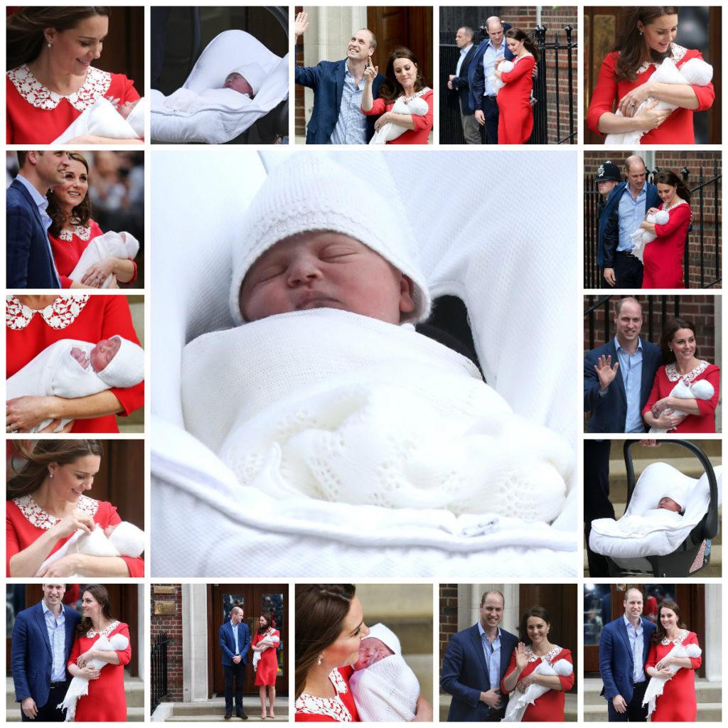 All Hail The Royal Baby~ Prince William And Kate Middleton Welcome The Third Royal
