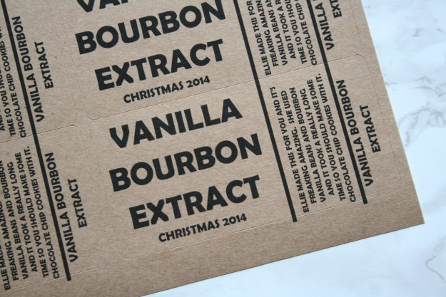 Vanilla Bourbon Extract 069
