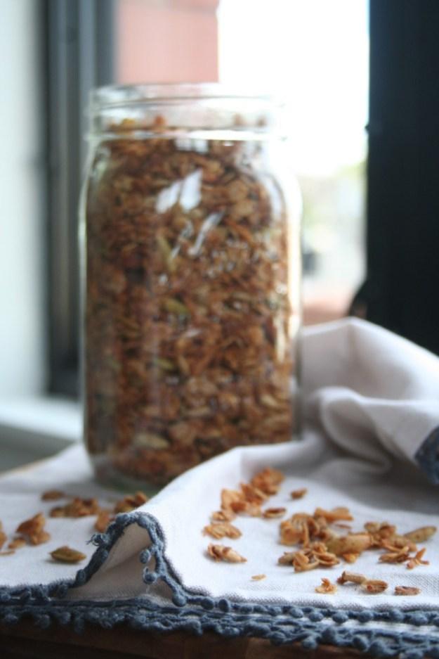 granola crumbles