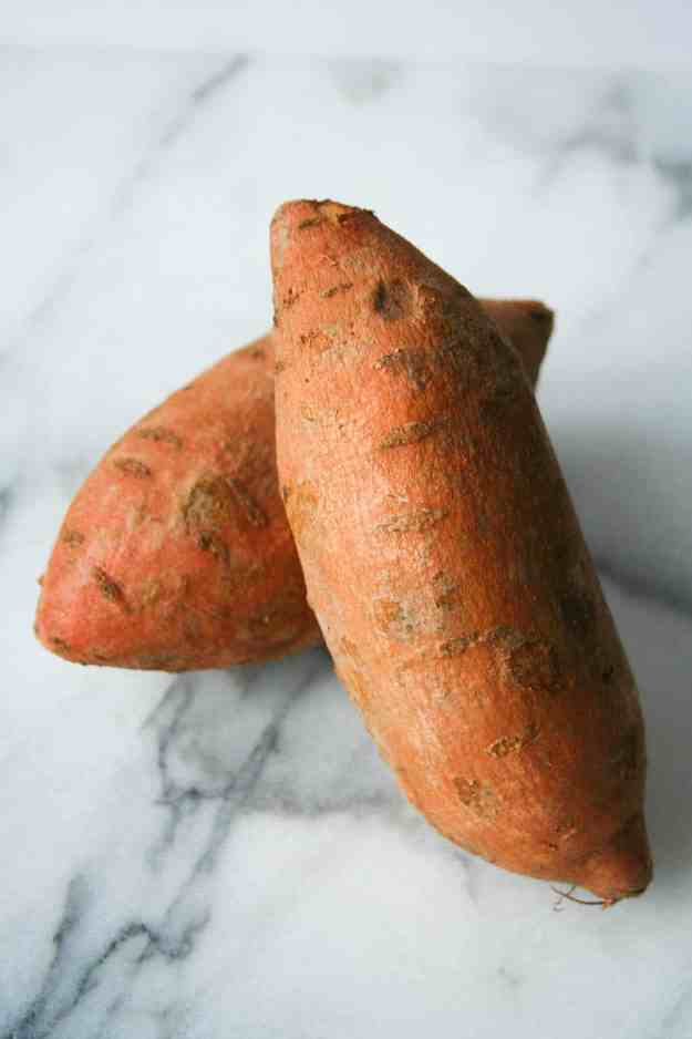 Ahh the wonderful sweet potato - how I love thee. I especially love making these into BAKED sweet potato fries. Don't forget the creamy tahini dip! | hungrybynature.com