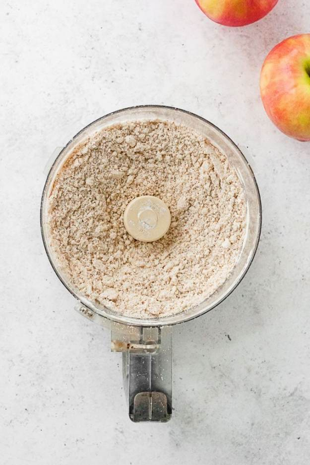 gluten free apple pie crust in food processor