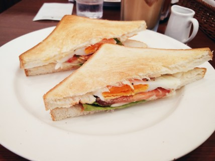 Fried Egg & Lettuce Sandwich