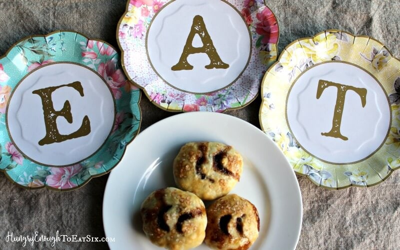 Eccles Cakes are little pastries filled with spiced currants. They are a unique, sweet treat to enjoy any old time.
