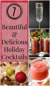 There are so many creative, beautiful, delicious holiday cocktail recipes out there just waiting to be shaken and stirred for our stylish and decadent holiday gatherings!