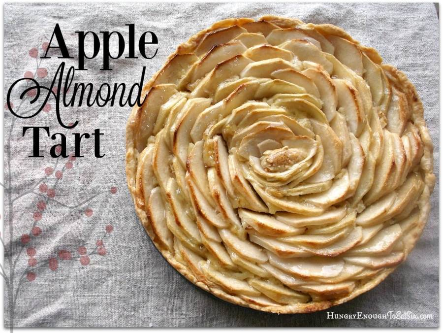 Apple Almond Tart