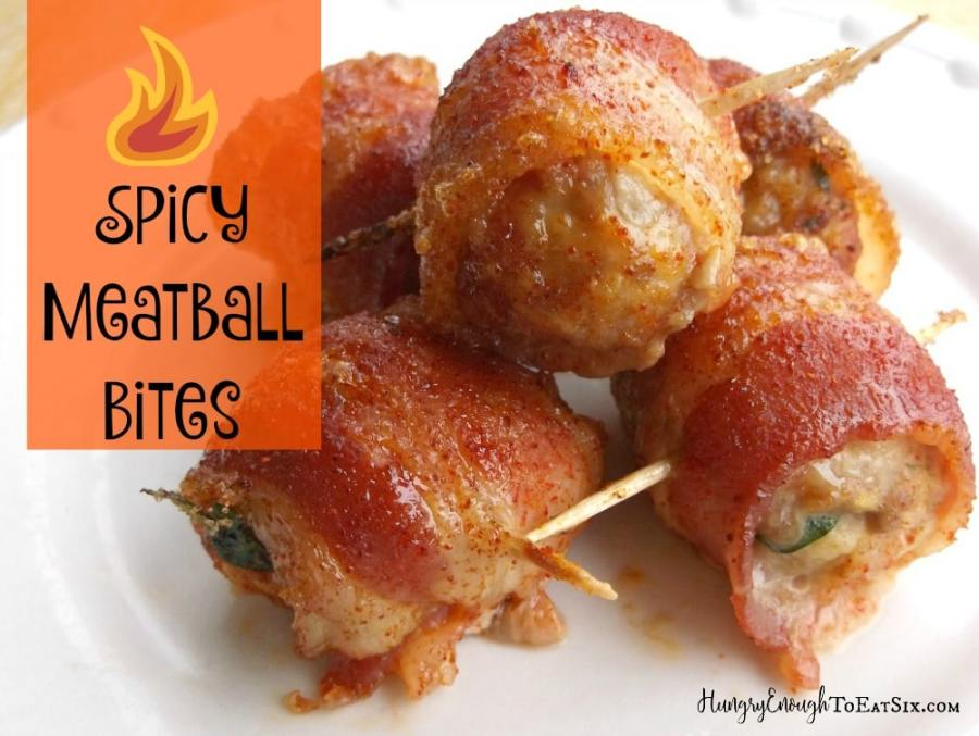 Spicy Meatball Bites