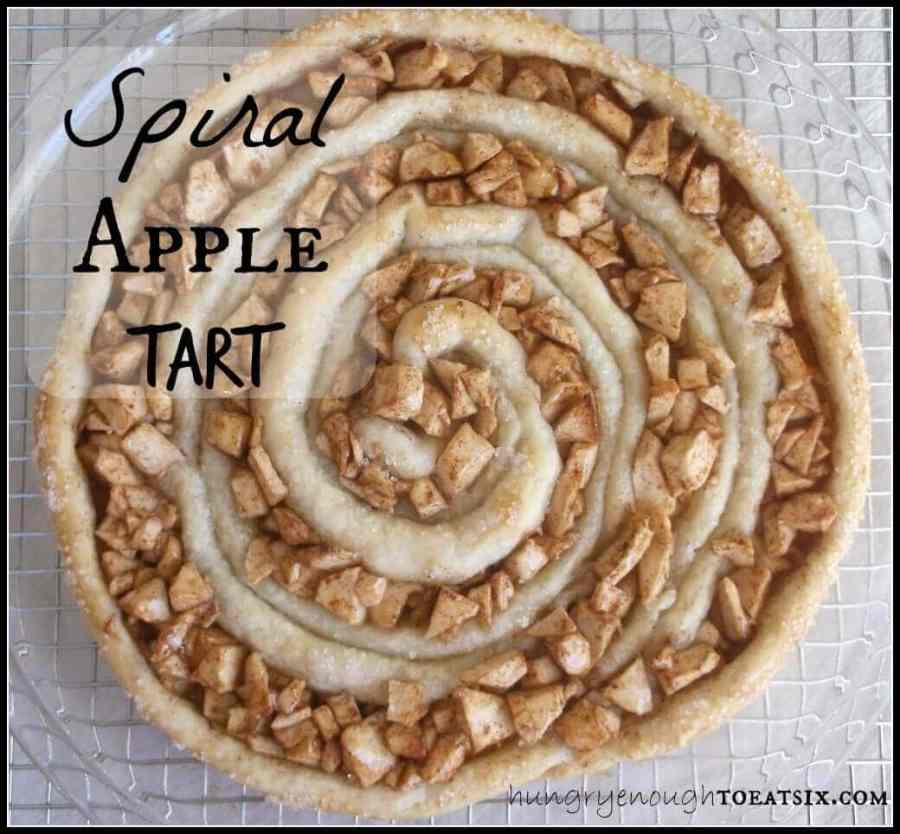 Spiral Apple Tart