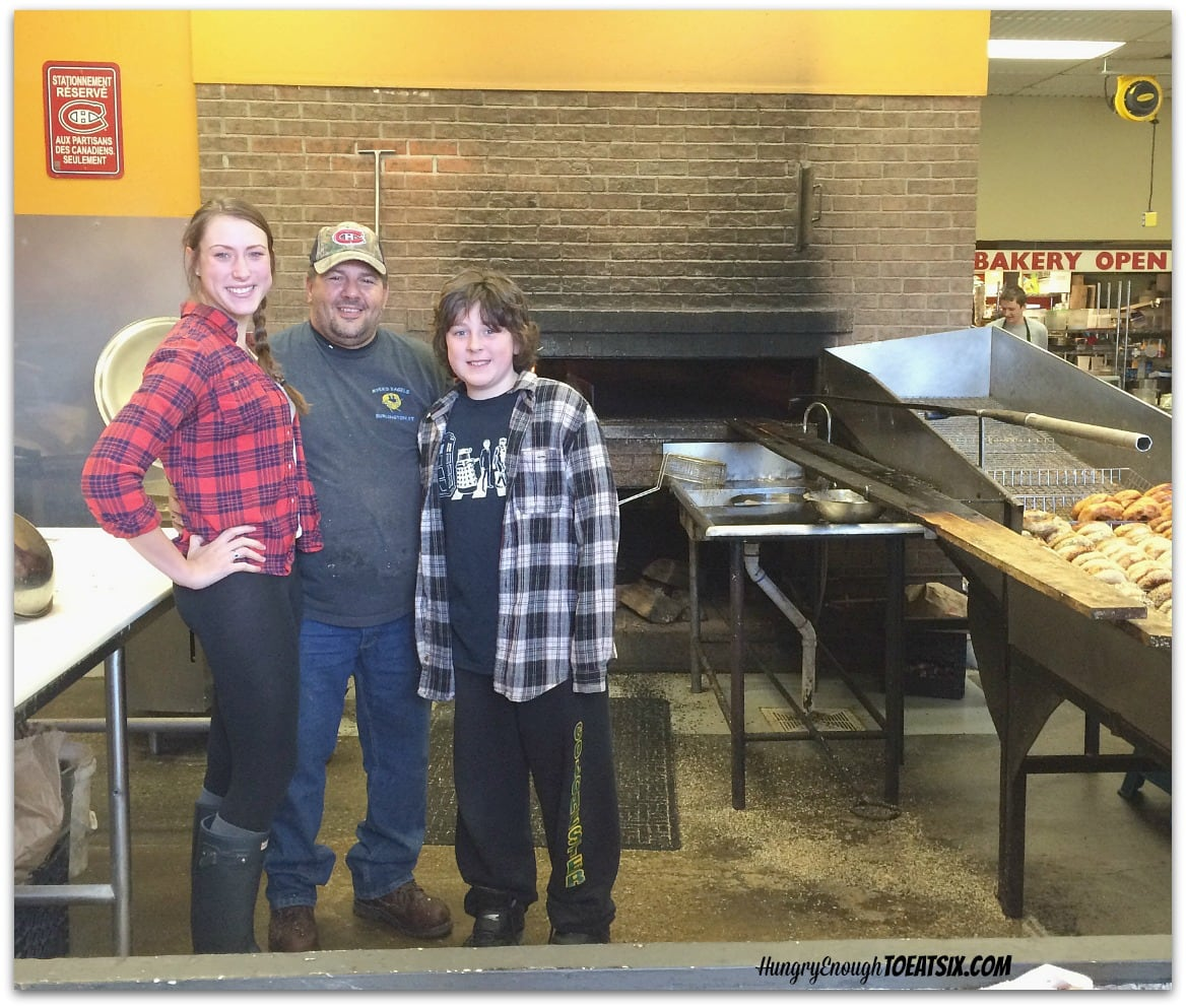 Myer's Bagels: our kids with Lloyd Squiers