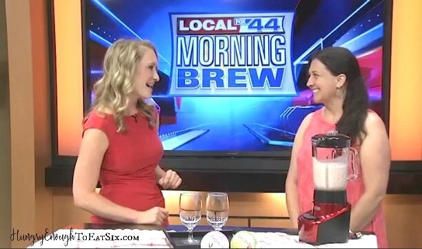 "Kid-Friendly Summer Recipes: Hungry Enough To Eat Six on Fox44's ""The Morning Brew"""