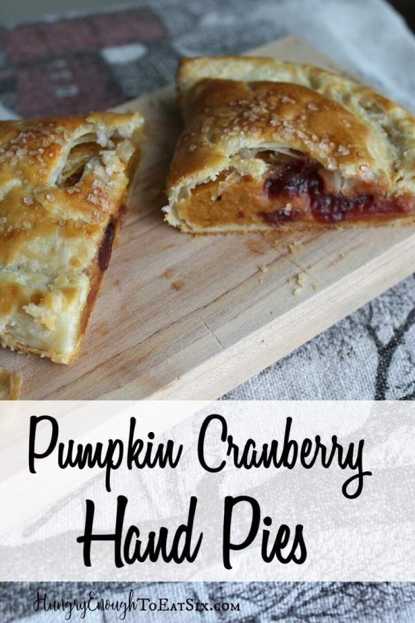 Cranberry & pumpkin are wonderful flavors together. The cranberry gives a sweet-tart flavor to the smooth, spiced pumpkin pie. And there is lots more flaky, buttery crust to enjoy!