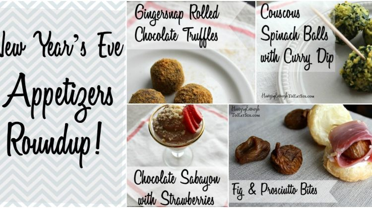 New Year's Eve Appetizers Roundup!