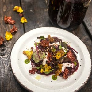 http://www.baconismagic.ca/loka-snacks/beet-carpaccio-recipe/