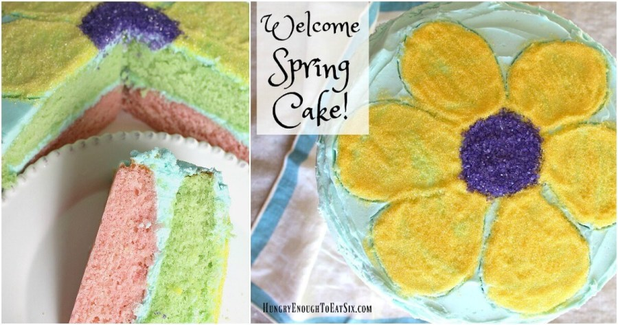 Welcome Spring Cake