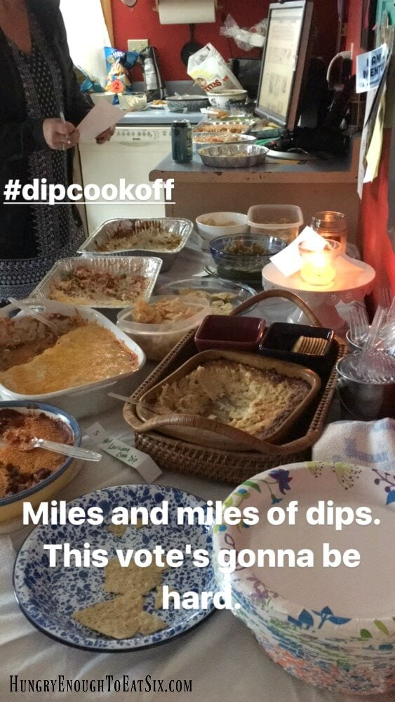 Our latest cook-off theme was Dips! A whole range of savory dips, hot dips, cold dips, even a sweet dip. But which dips took home the gold? Check out this post and see!