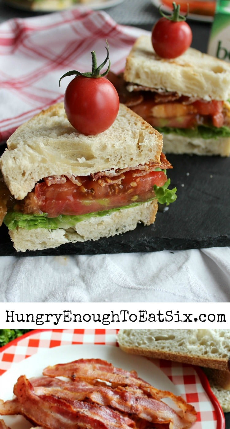 Two Ways To Make The Best BLT! Take advantage of the season's best, flavorful tomatoes to make the best BLT. And there are two variations to try!