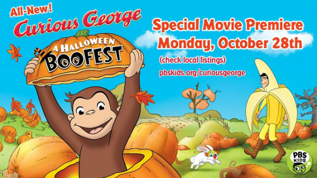 Curious George A Halloween Boo Fest on PBS #BooFestPBS #LatinaBloggers