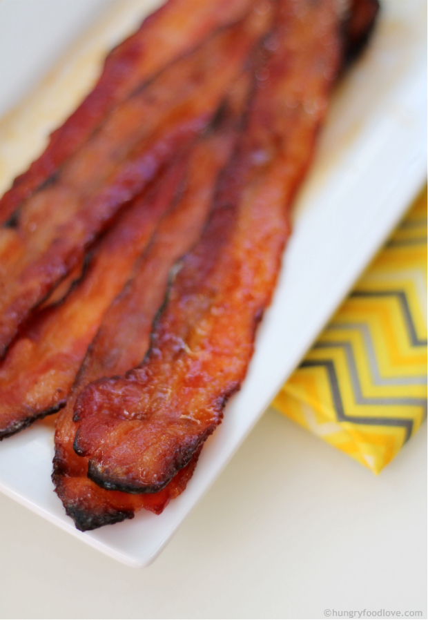Perfect Honey Chipotle Oven Baked BACON!