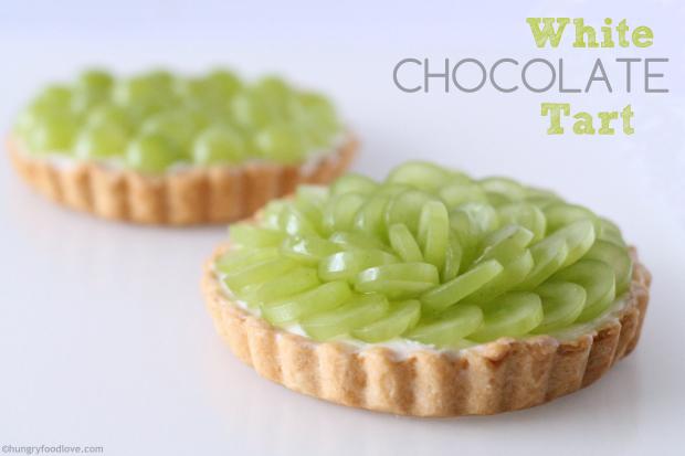 White Chocolate Mascarpone Tart