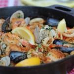 Farro Seafood Paella