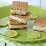 Key Lime Frozen Yogurt Sandwiches