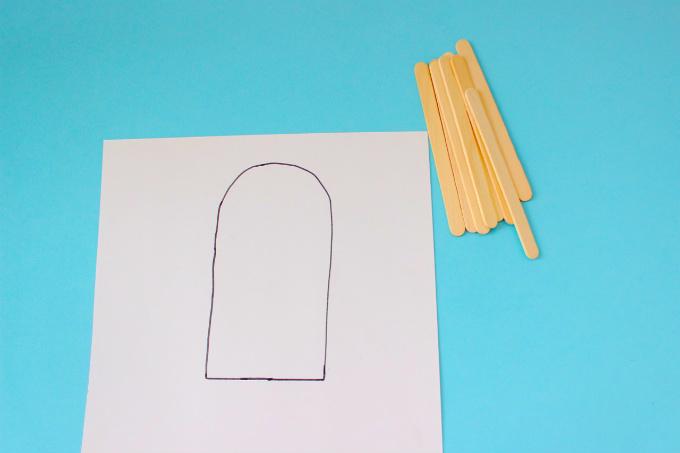 DIY Paper Popsicles for Kids