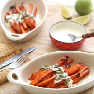 Taco Spiced Roasted Carrots