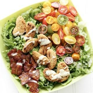 BALT Salad (Bacon, Avocado, Lettuce, Tomato)